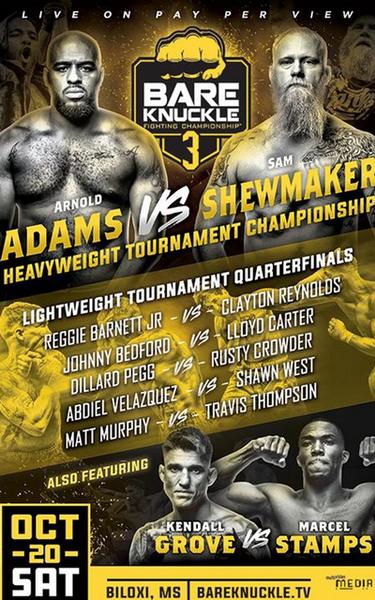 دانلود رویداد بوکس: Bare Knuckle Fighting Championship 3: The Takeover-نسخه 720-لینک مستقیم
