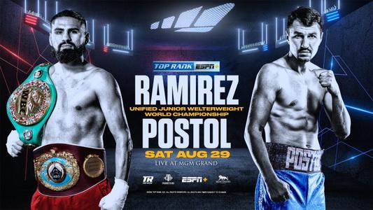 دانلود مبارزه بوکس :Jose Ramirez vs Viktor Postol-2020-08-29