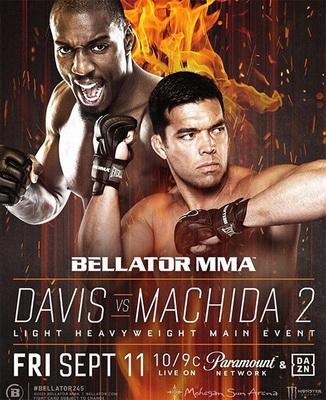 دانلود مسابقات بلاتور  245 |    Bellator 245: Davis vs. Machida 2+تک مبارزه