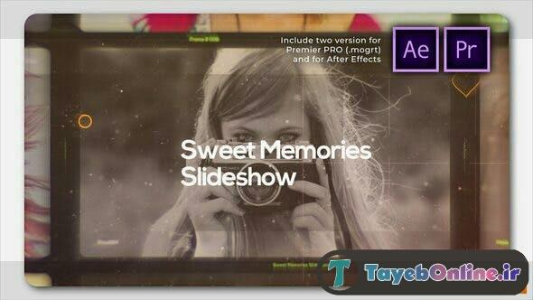 پروژه آماده پریمیر رایگان کلیپ سینمایی و تیزر Sweet Memories Cinematic Slideshow 27178765