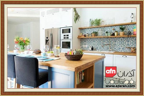 بررسی انواع دیوارپوش آشپزخانه