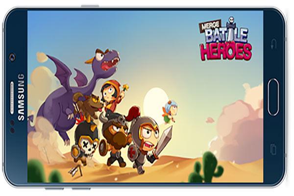 دانلود بازی اندروید Merge Battle Heroes