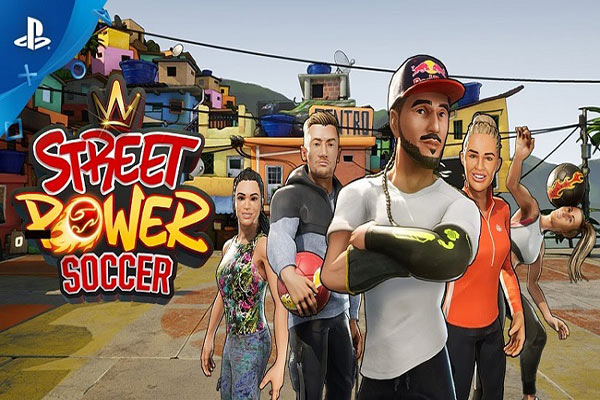بازی Street Power Soccer