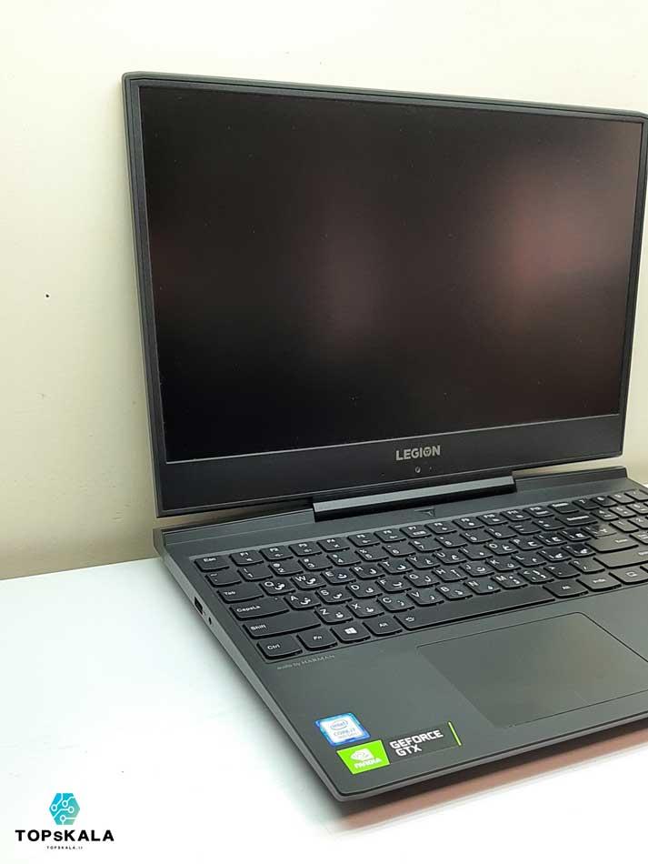 لپ تاپ استوک لنوو مدل Lenovo Legion Y545 با مشخصات Intel Core i7 9750H - NVidia GTX 1660Ti  دارای مهلت تست و گارانتی رایگان/ محصول لنوو سال 2018 - 2019