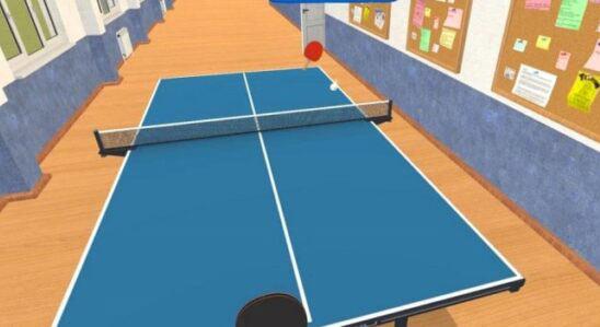 بازی Table Tennis