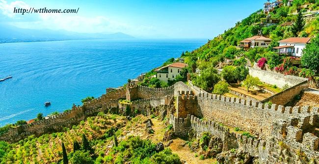 آنتالیا از شهر های مهم ترکیه