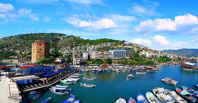 آلانیا شهر صاحلی ترکیه