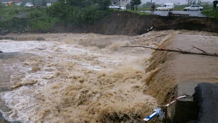 خسارت سیلاب به 240 خانه در تالش