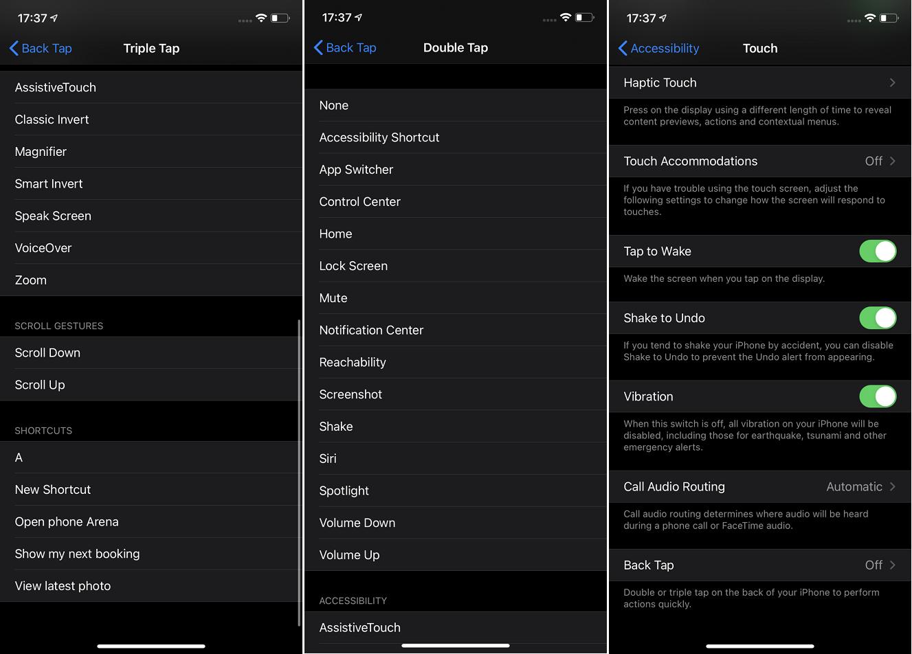 ترفندهای iOS 14 / فعال کردن بک تپ