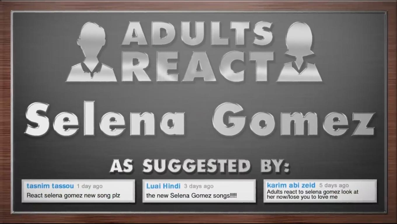 واکنش افراد بزرگسال به موزیک ویدیوی LYTLM & LAHN سلینا