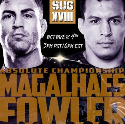 مسابقات گراپلینگ: Submission Underground 18: Jones vs. Fowler 3