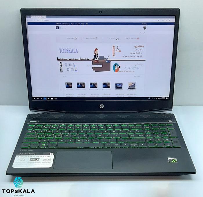 خرید لپ تاپ استوک اچ پی مدل HP Pavilion Gaming 15 با مشخصات AMD Ryzen 5 3550H - nVidia GTX 1050 دارای مهلت تست و گارانتی رایگان/ محصول اچ پی سال 2018